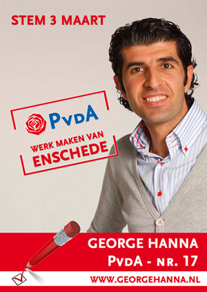 Campagneposter George Hanna