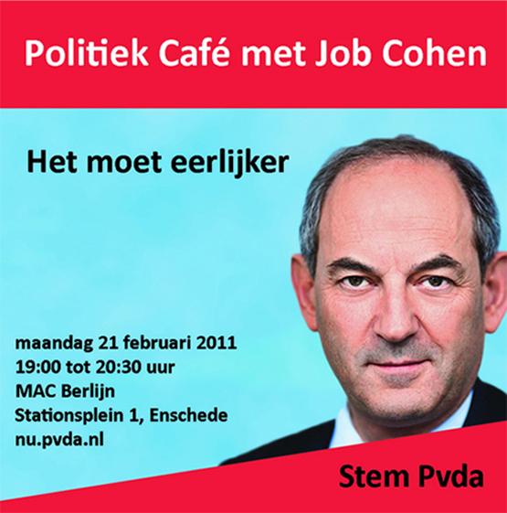 Job Cohen in Enschede