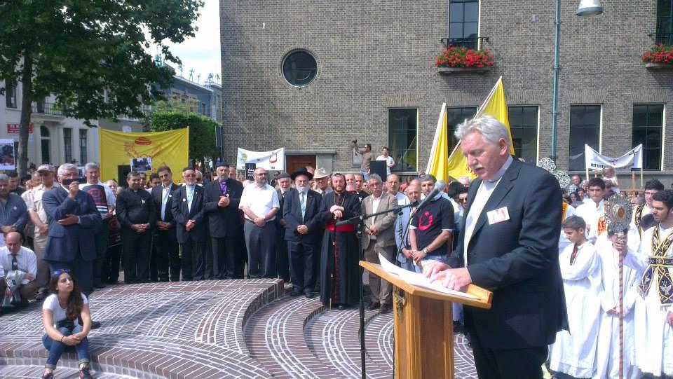 Klaas van der Kamp, Algemeen Secretaris Raad van Kerken